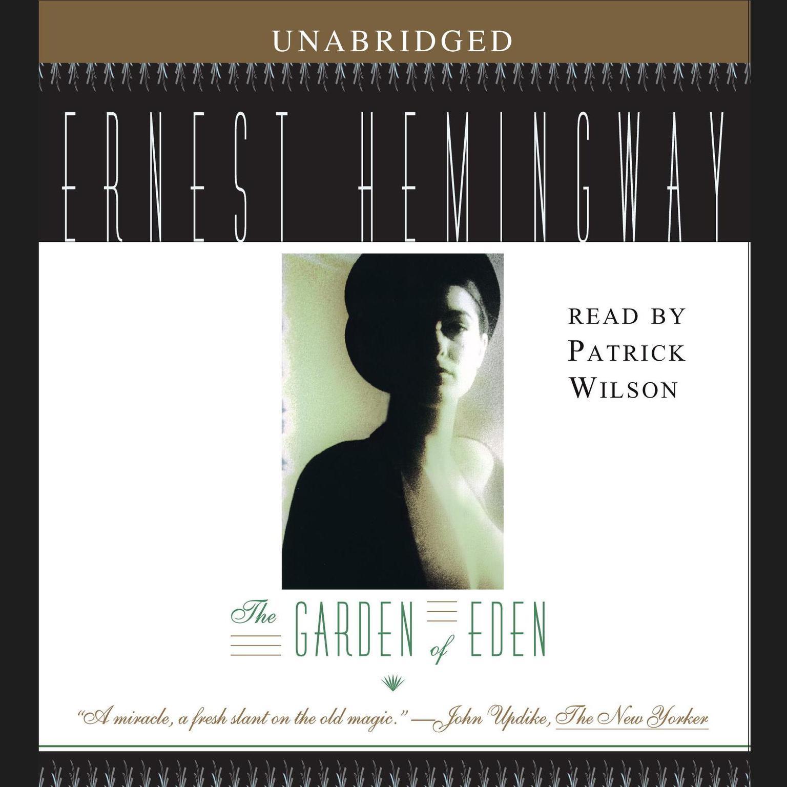 Printable The Garden of Eden Audiobook Cover Art