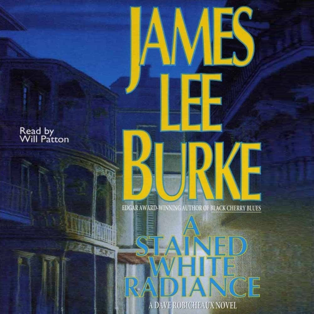 Printable A Stained White Radiance Audiobook Cover Art