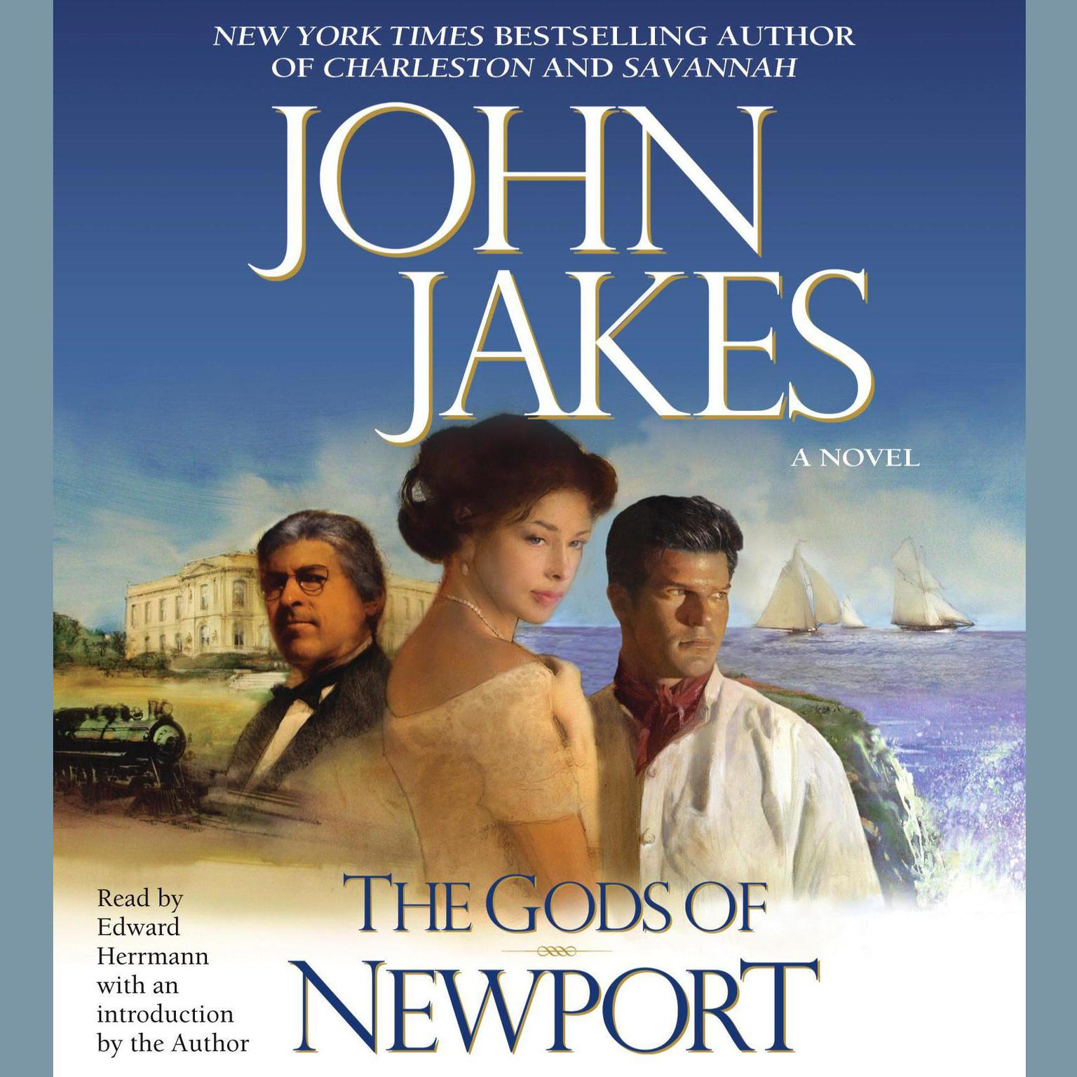 Printable The Gods of Newport Audiobook Cover Art
