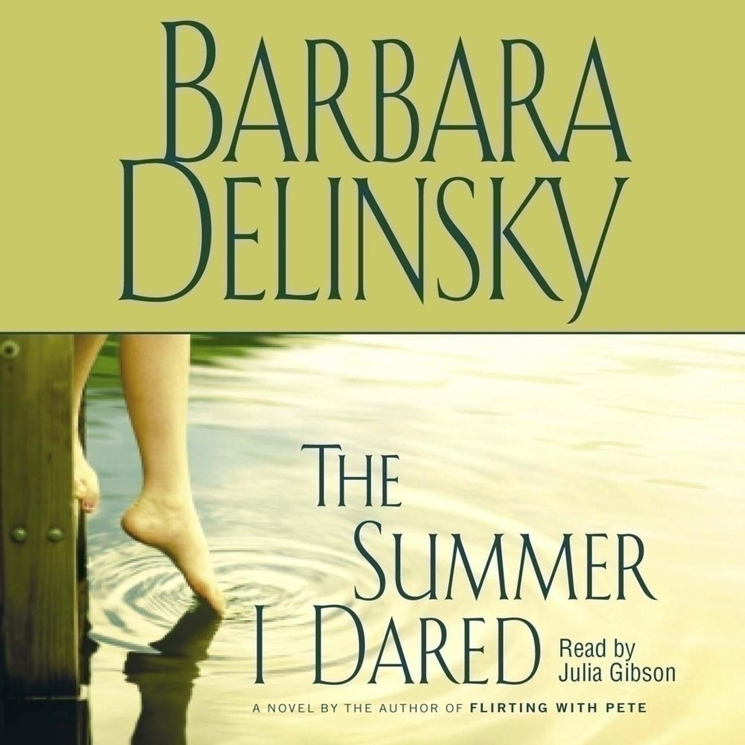 Printable Summer I Dared Audiobook Cover Art
