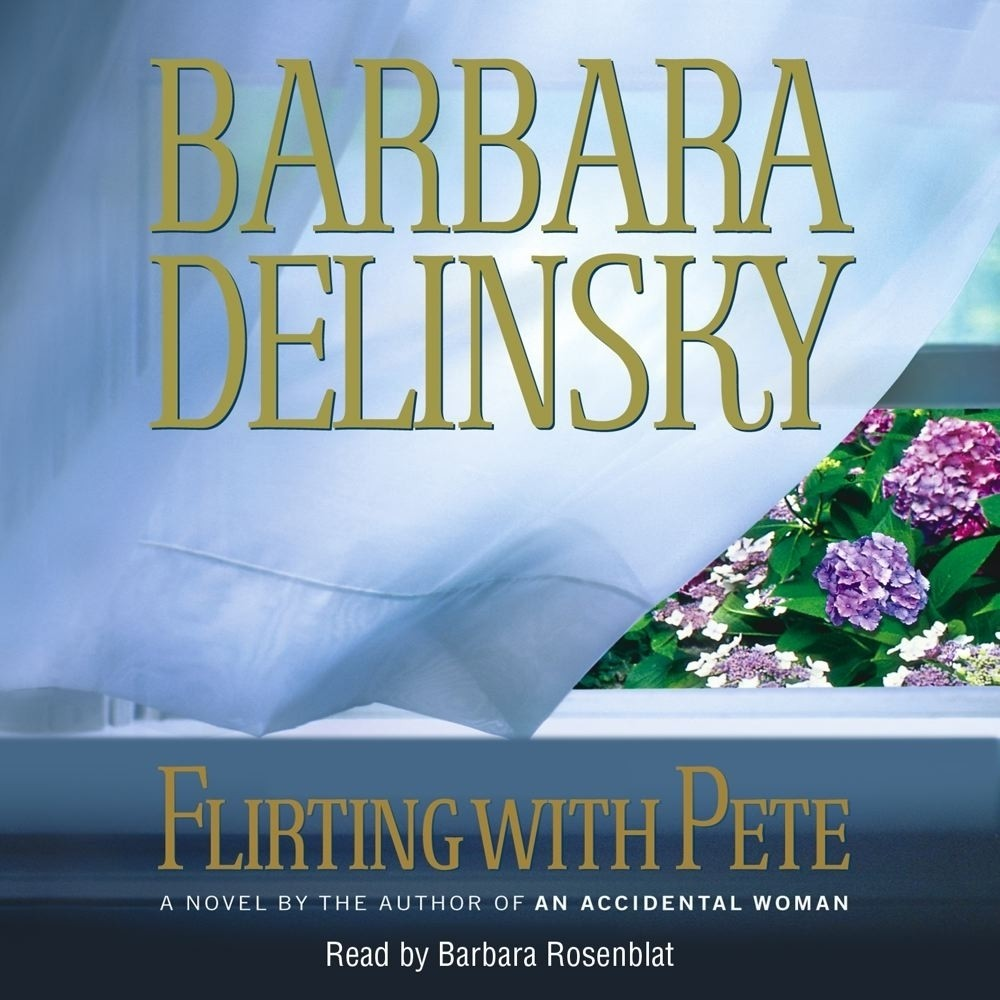 Printable Flirting with Pete Audiobook Cover Art
