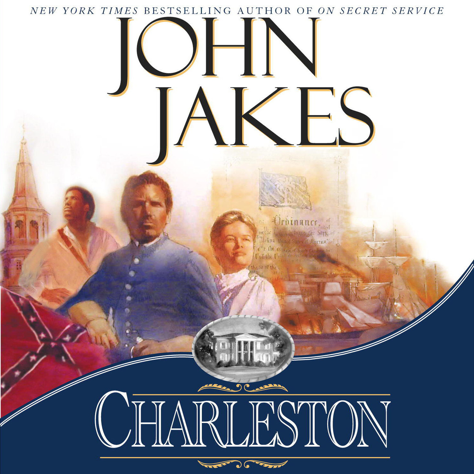 Printable Charleston Audiobook Cover Art