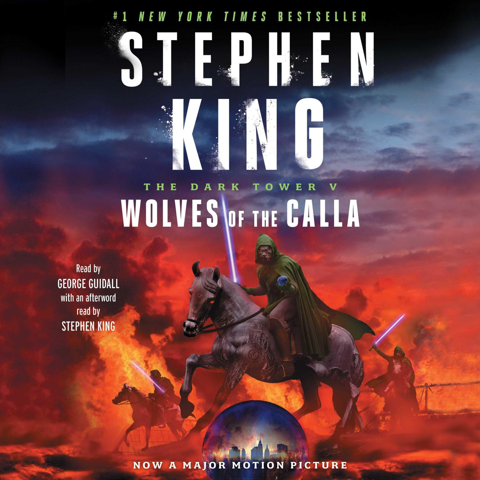 Printable The Dark Tower V: Wolves of the Calla Audiobook Cover Art