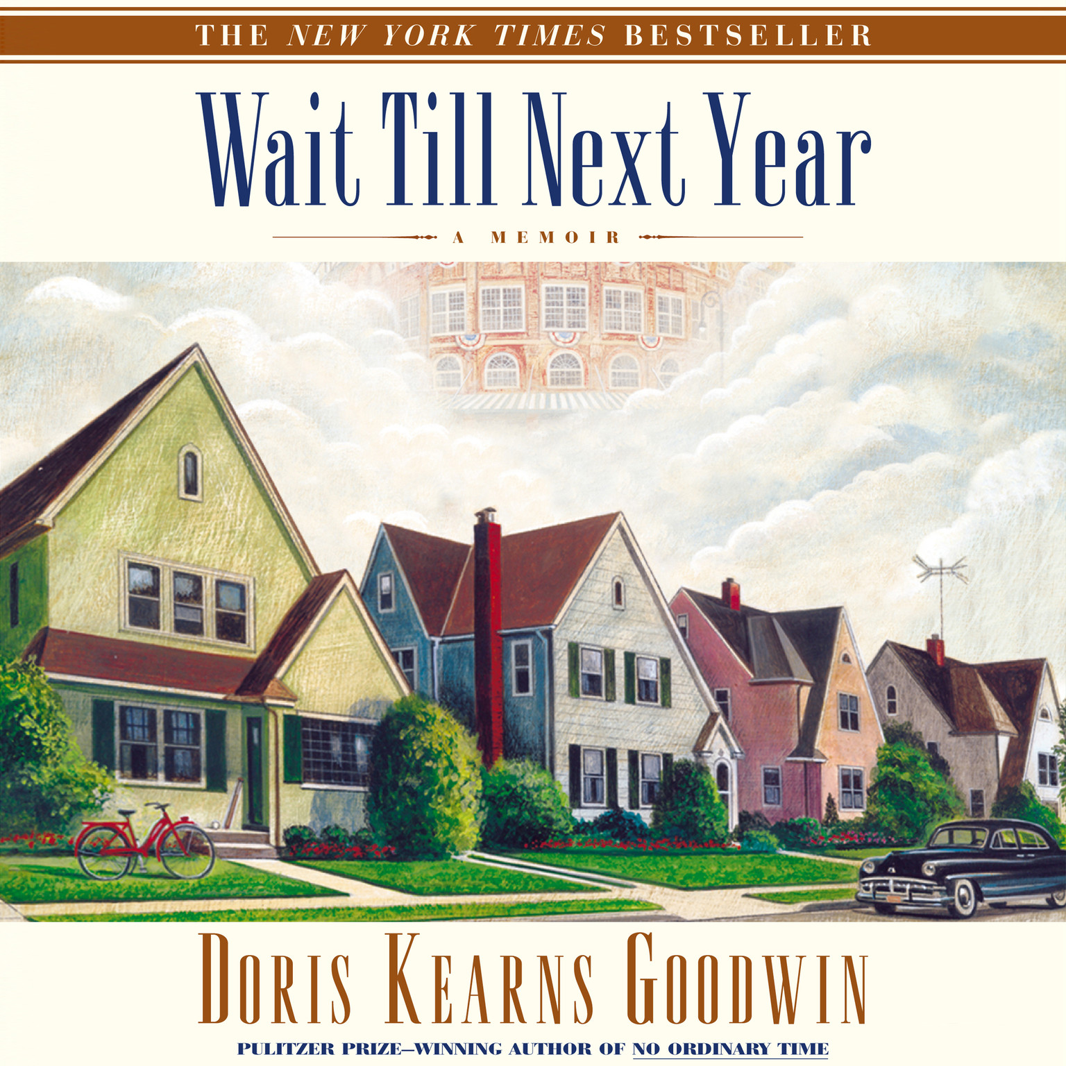 Printable Wait Till Next Year: A Memoir Audiobook Cover Art