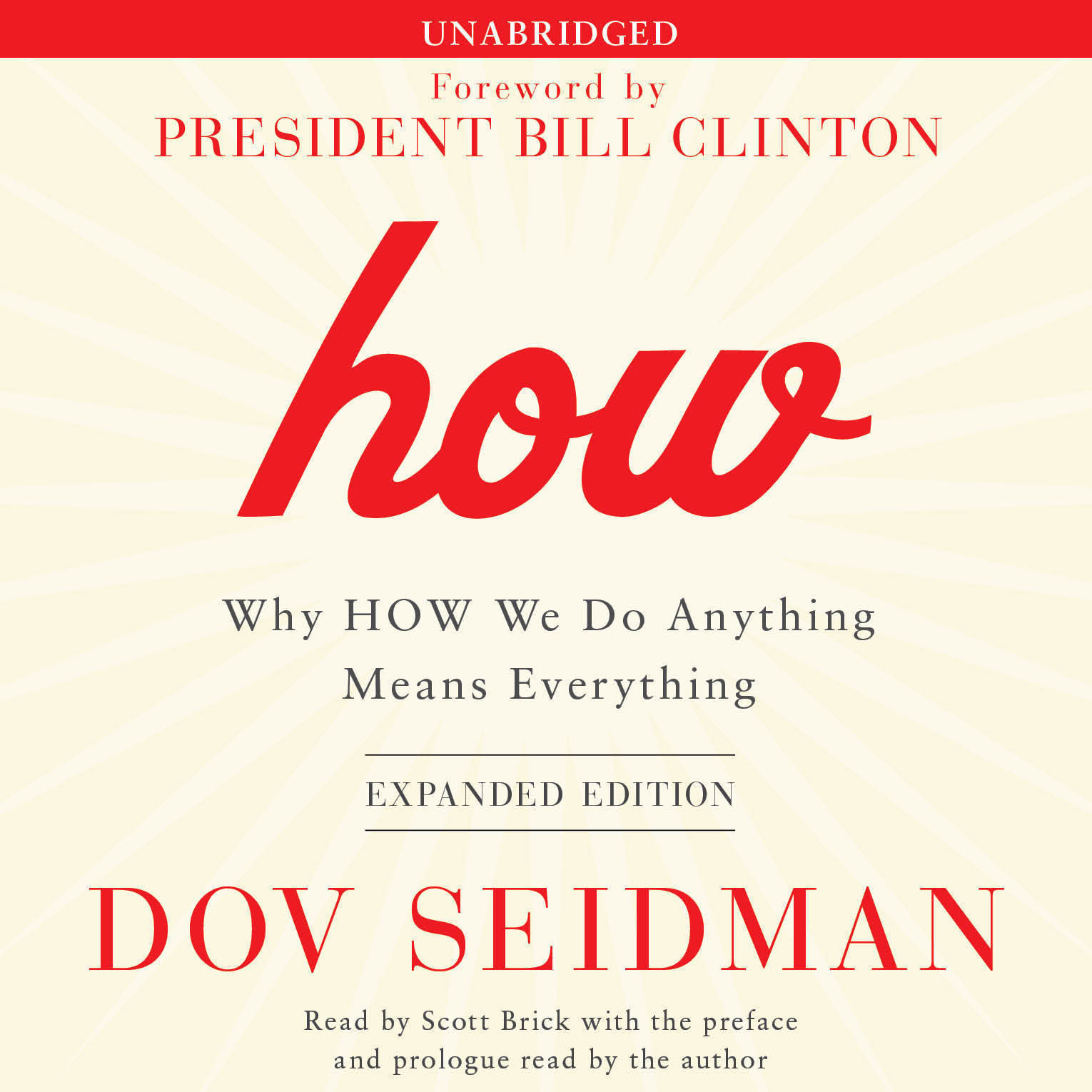 Printable How: Why HOW We Do Anything Means Everything Audiobook Cover Art