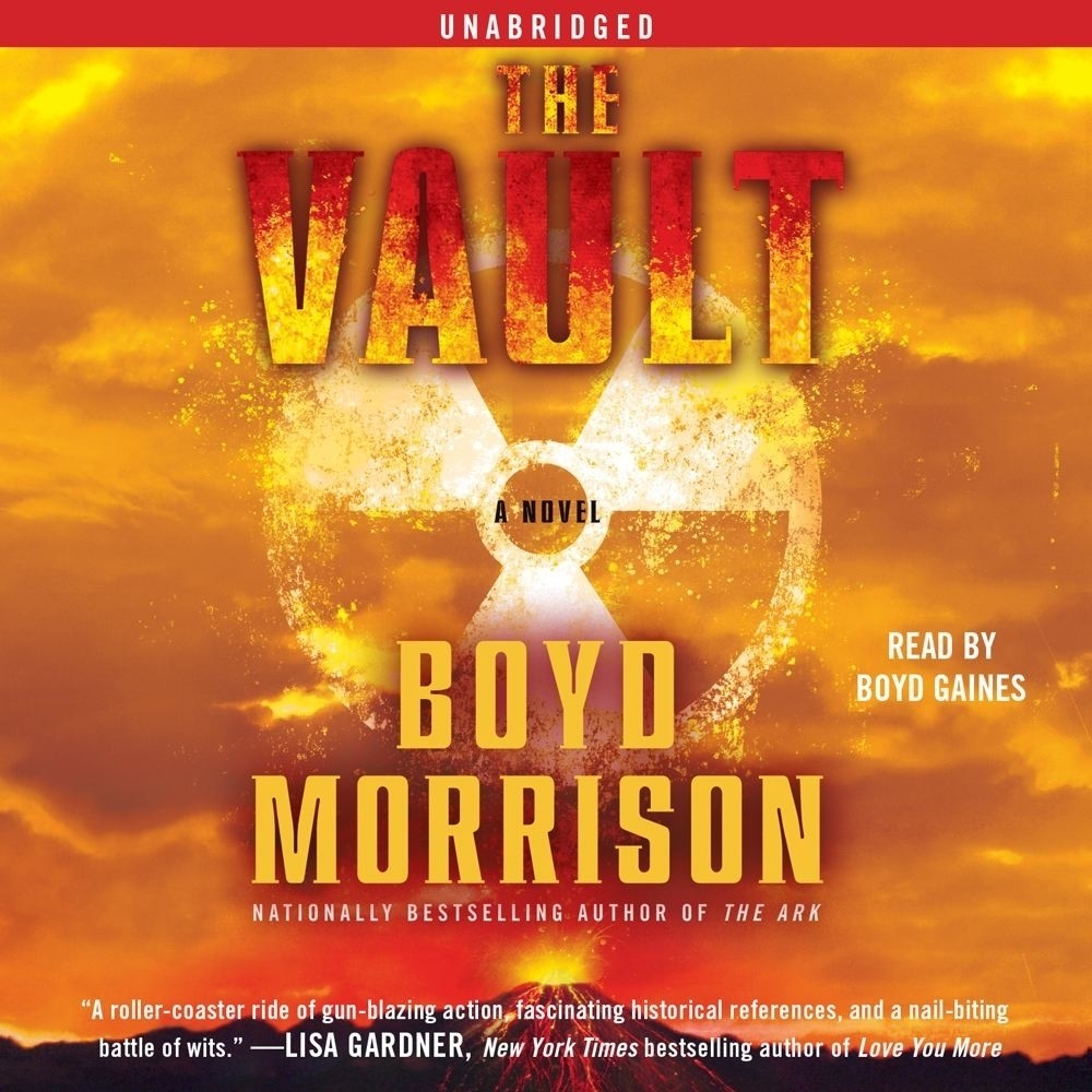 Printable The Vault: A Novel Audiobook Cover Art