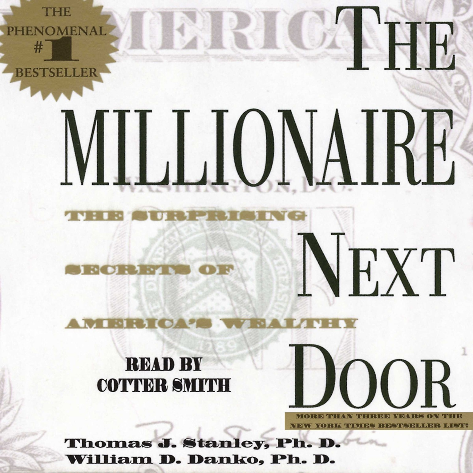 Printable The Millionaire Next Door: The Surprising Secrets Of Americas Wealthy Audiobook Cover Art