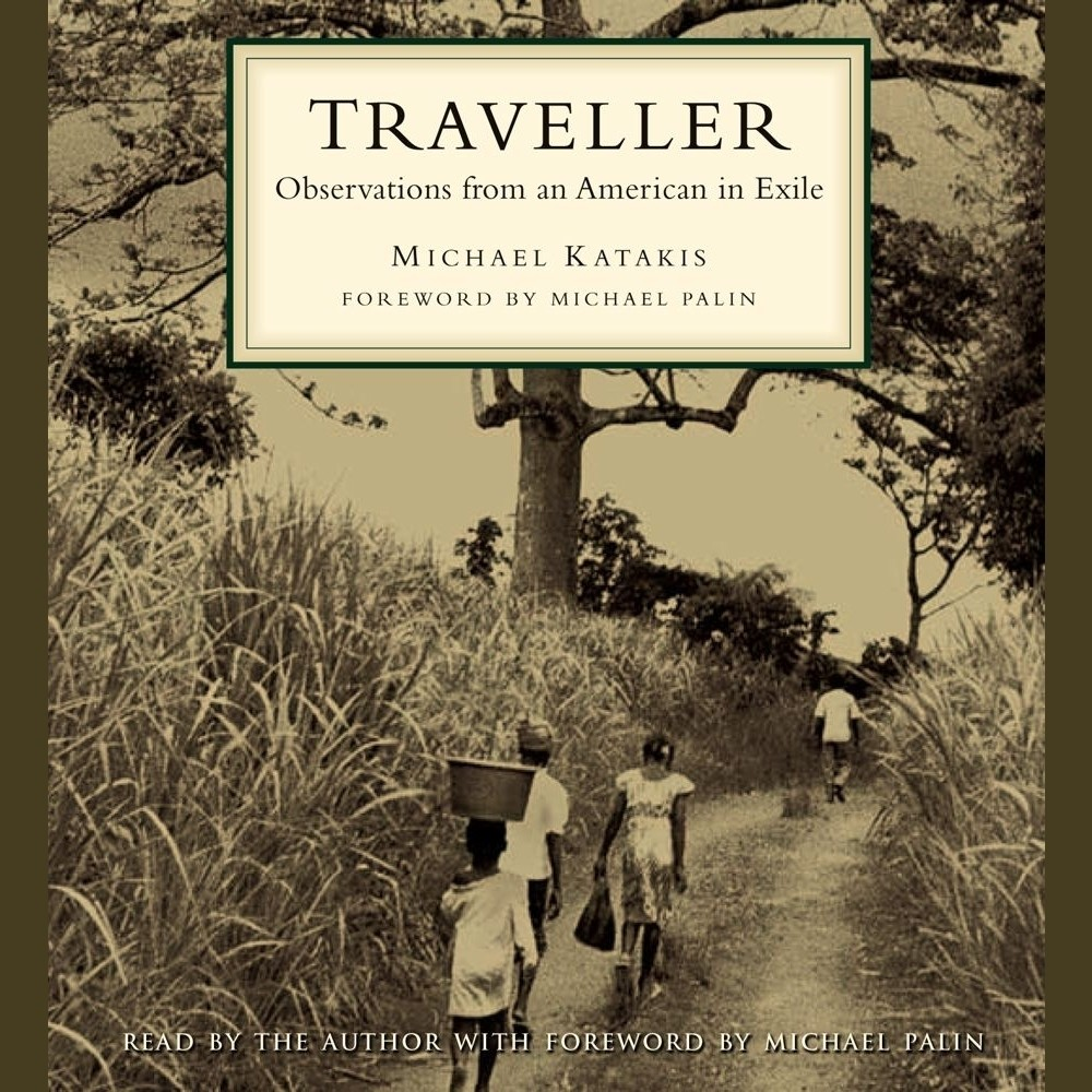 Printable Traveller: Observations from an American in Exile Audiobook Cover Art