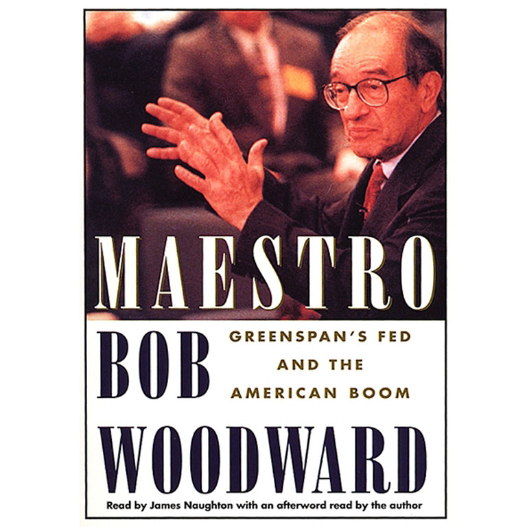 Printable Maestro: Greenspan's Fed And The American Boom Audiobook Cover Art