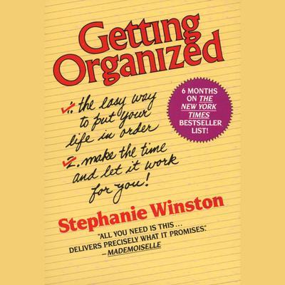 Getting Organized Audiobook, by Stephanie Winston
