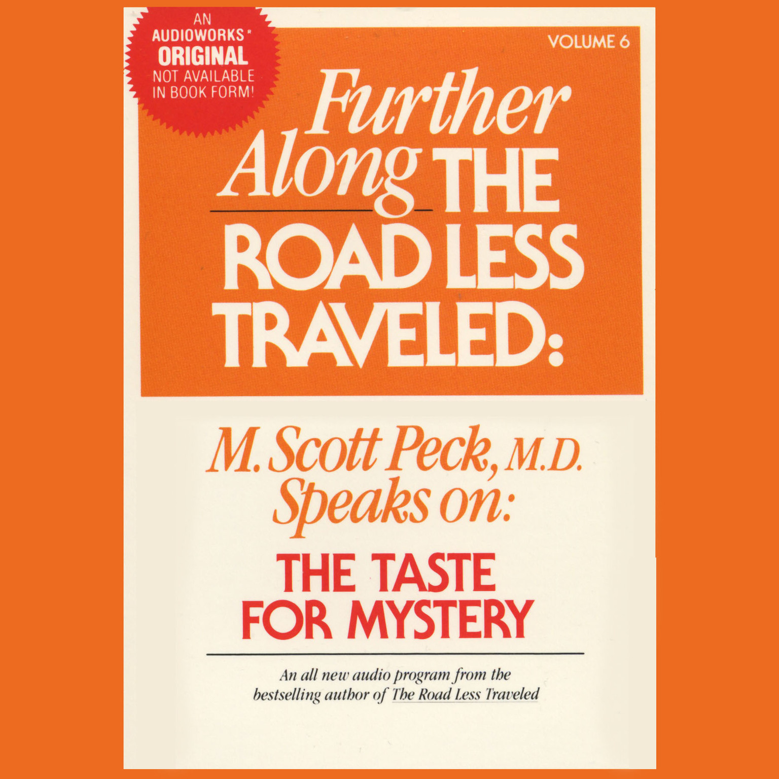 Printable Further along the Road Less Traveled: The Taste for Mystery Audiobook Cover Art