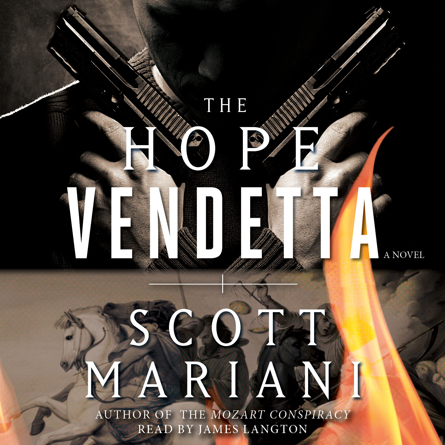 Printable The Hope Vendetta: A Novel Audiobook Cover Art