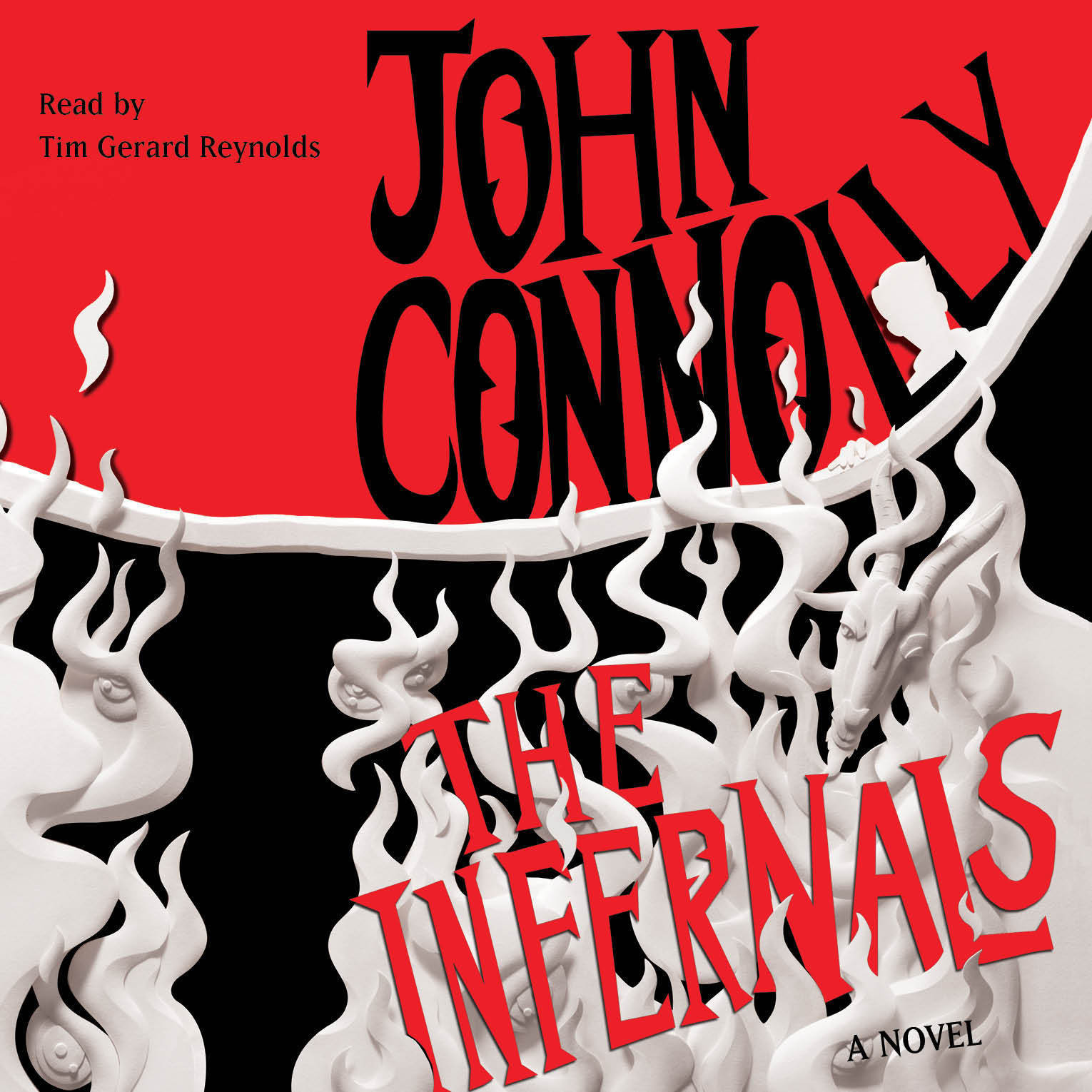 Printable The Infernals: A Novel Audiobook Cover Art