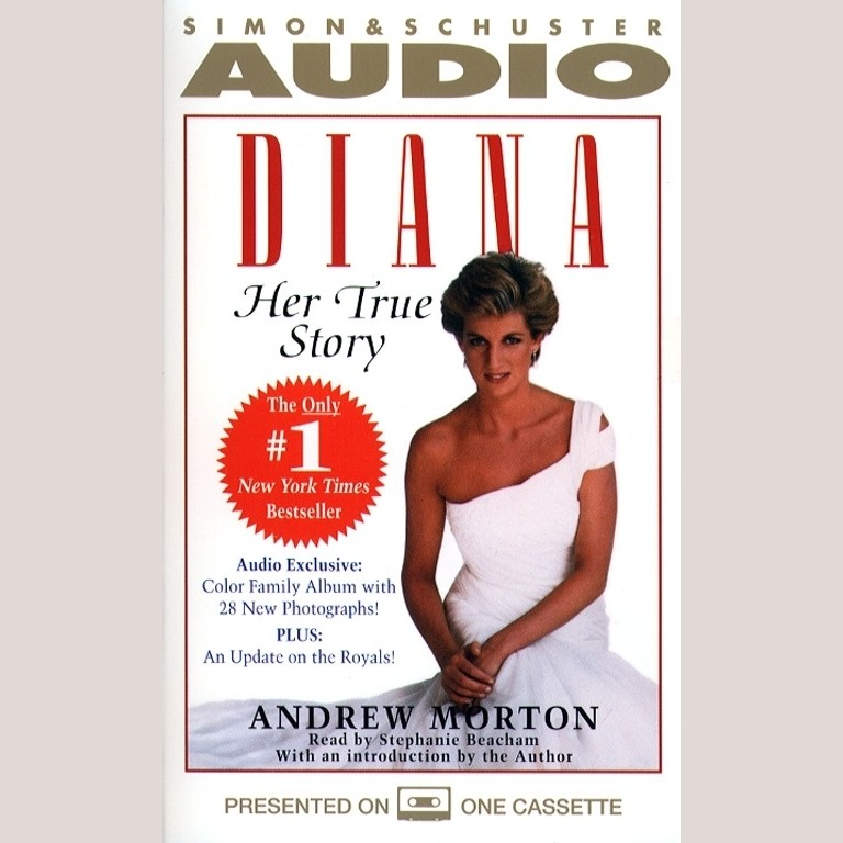 Printable Diana: Her True Story Audiobook Cover Art