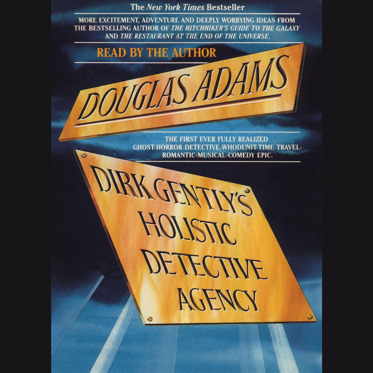 Printable Dirk Gently's Holistic Detective Agency Audiobook Cover Art