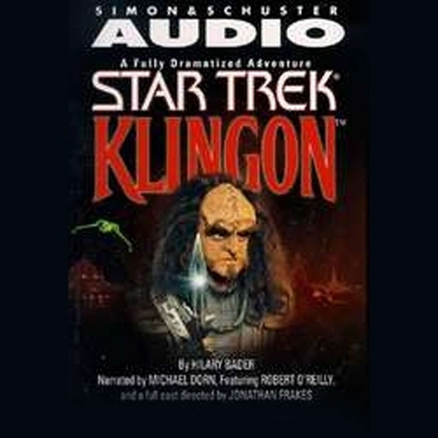 Printable Star Trek: Klingon Audiobook Cover Art