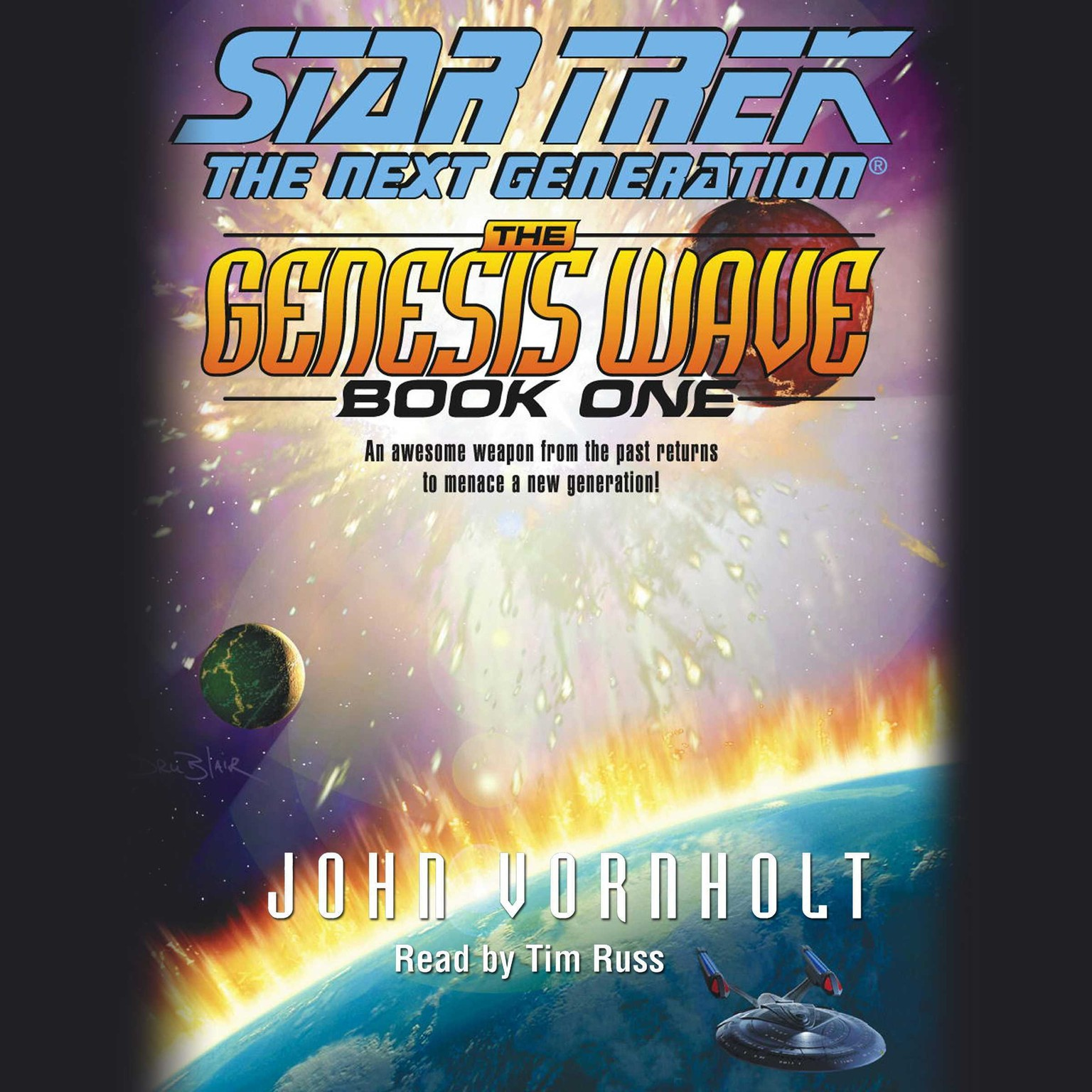 Printable Star Trek the Next Generation: Audiobook Cover Art