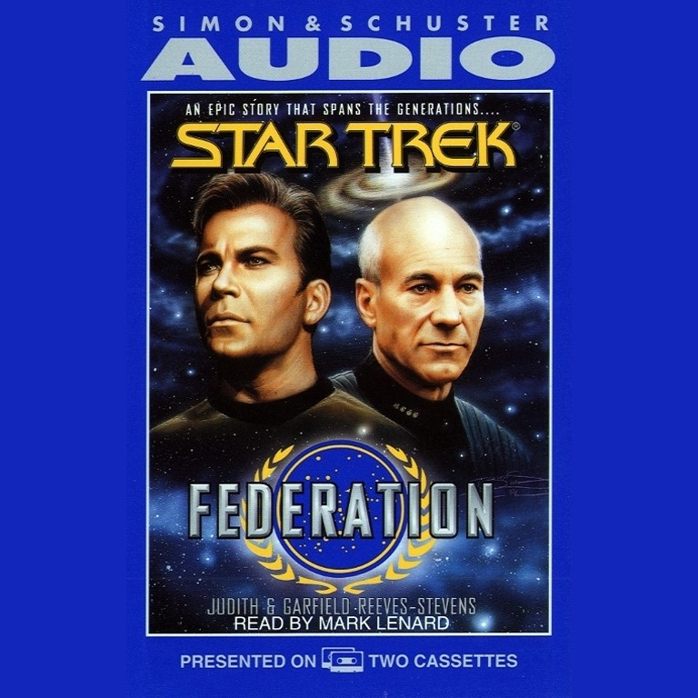 Printable Federation Audiobook Cover Art