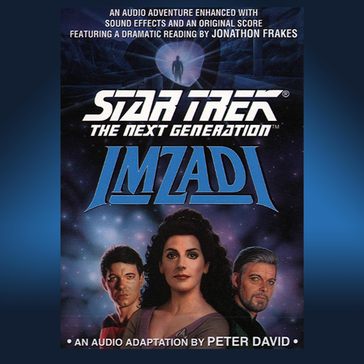 Printable Star Trek Next Generation: Imzadi Audiobook Cover Art
