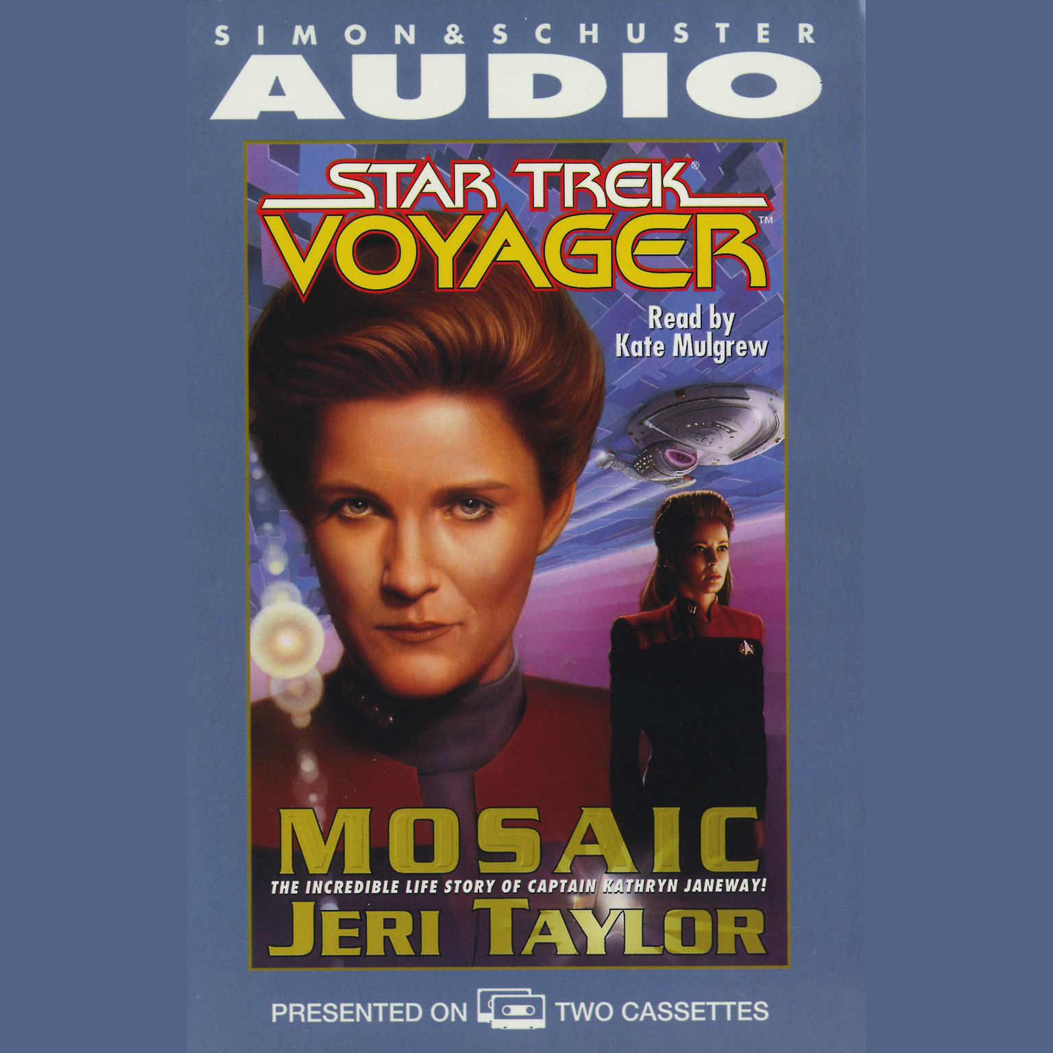 Printable Mosaic Audiobook Cover Art