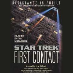 Star Trek: First Contact Audiobook, by J. M. Dillard