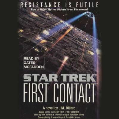 Printable Star Trek: First Contact Audiobook Cover Art