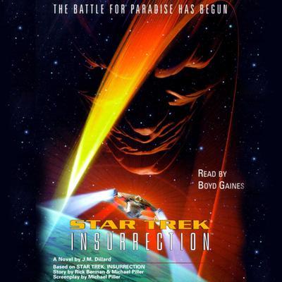 Star Trek: Insurrection Audiobook, by J. M. Dillard