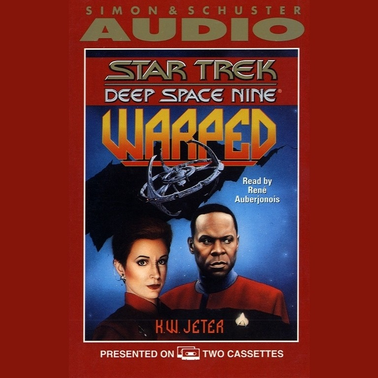 Printable Star Trek Deep Space Nine: Warped Audiobook Cover Art