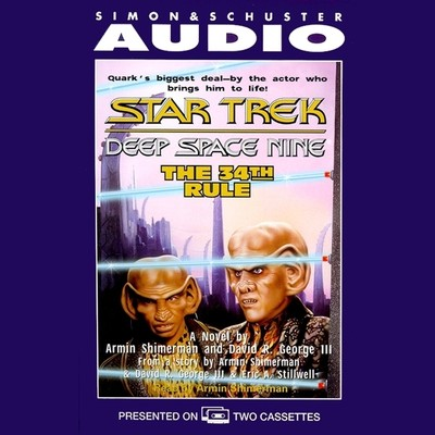 The The 34th Rule Audiobook, by Armin Shimerman