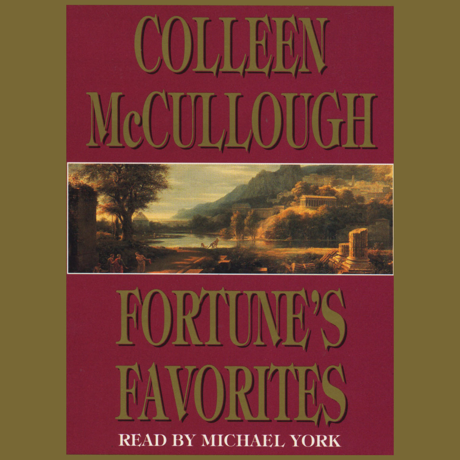 Printable Fortune's Favorites Audiobook Cover Art