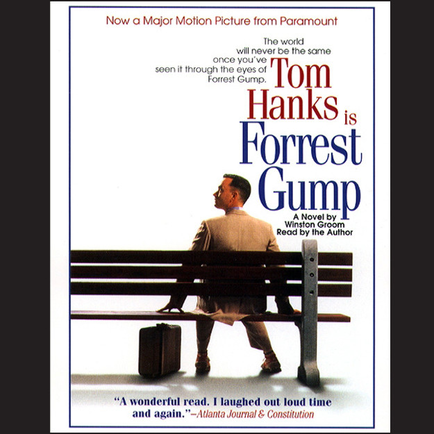 Printable Forrest Gump Audiobook Cover Art