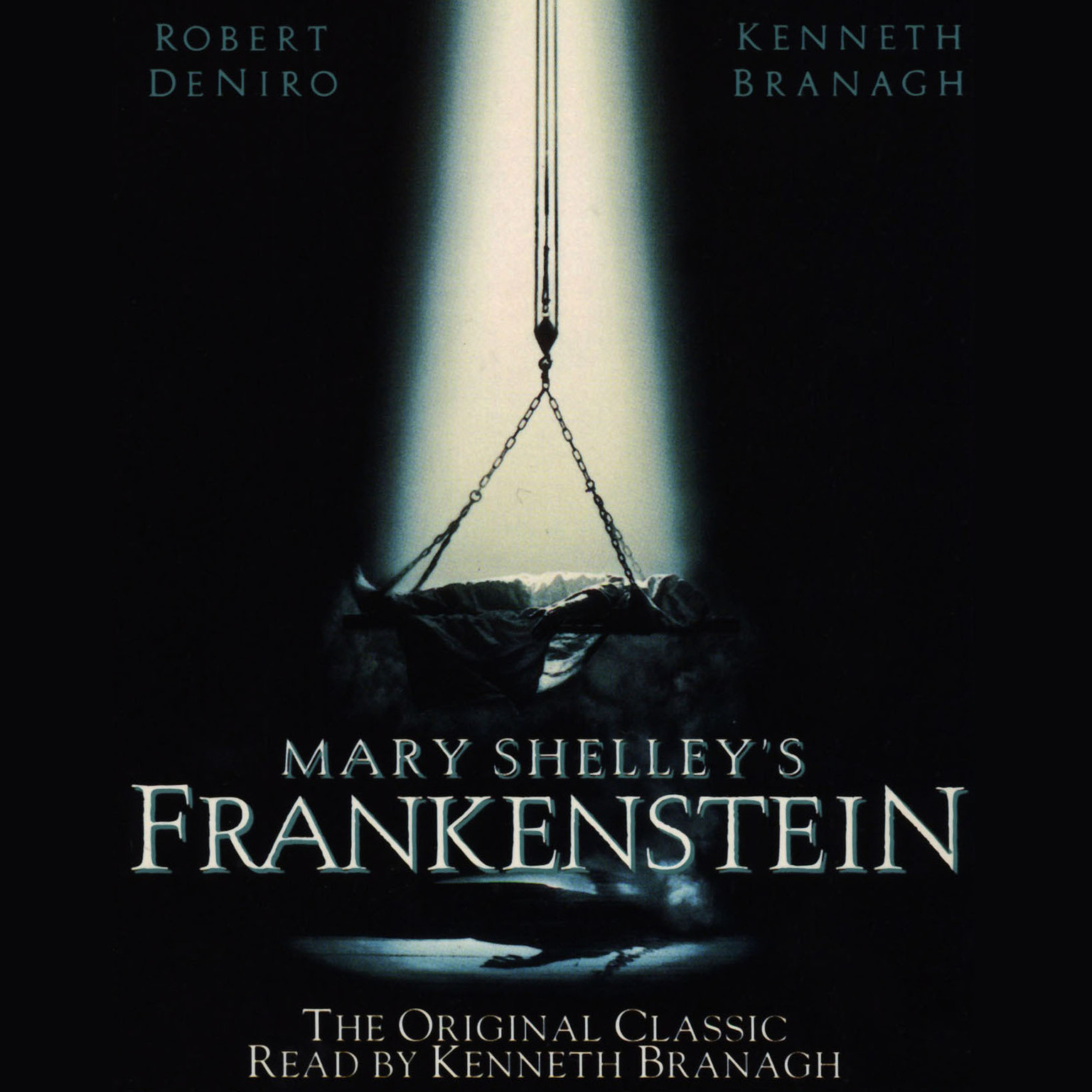 Printable Frankenstein Audiobook Cover Art