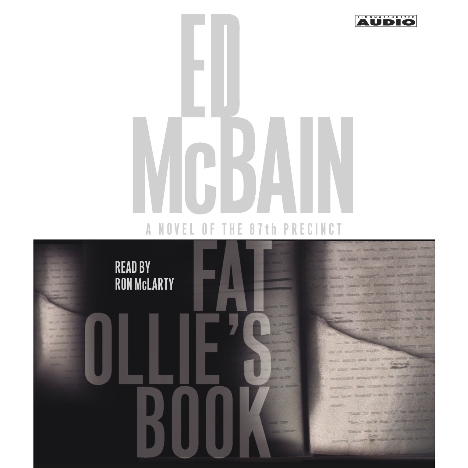 Printable Fat Ollie's Book: A Novel of the 87th Precinct Audiobook Cover Art