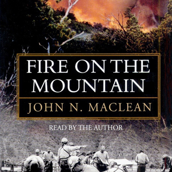 Printable Fire on the Mountain Audiobook Cover Art