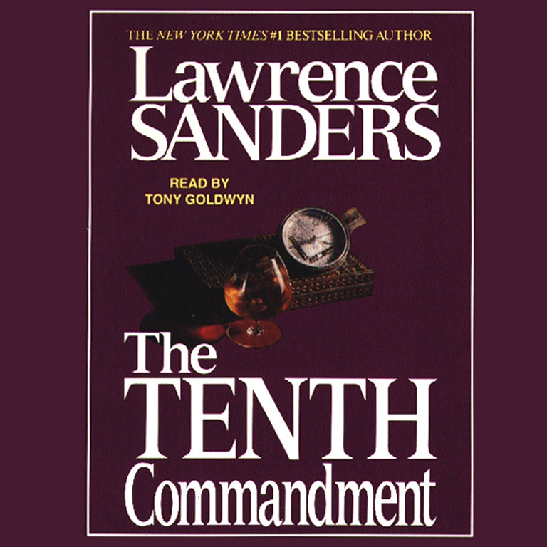 Printable Tenth Commandment Audiobook Cover Art