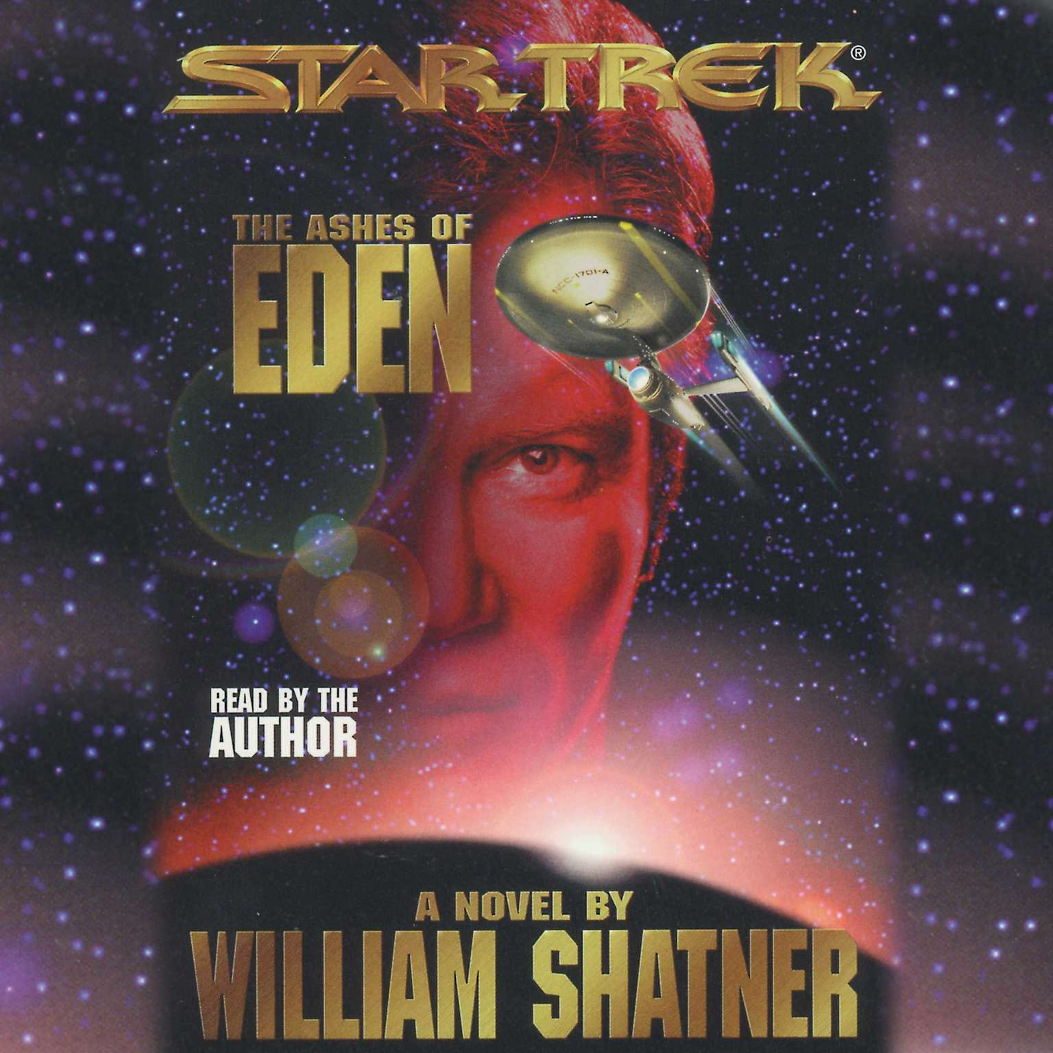 Printable Star Trek: Ashes of Eden Audiobook Cover Art