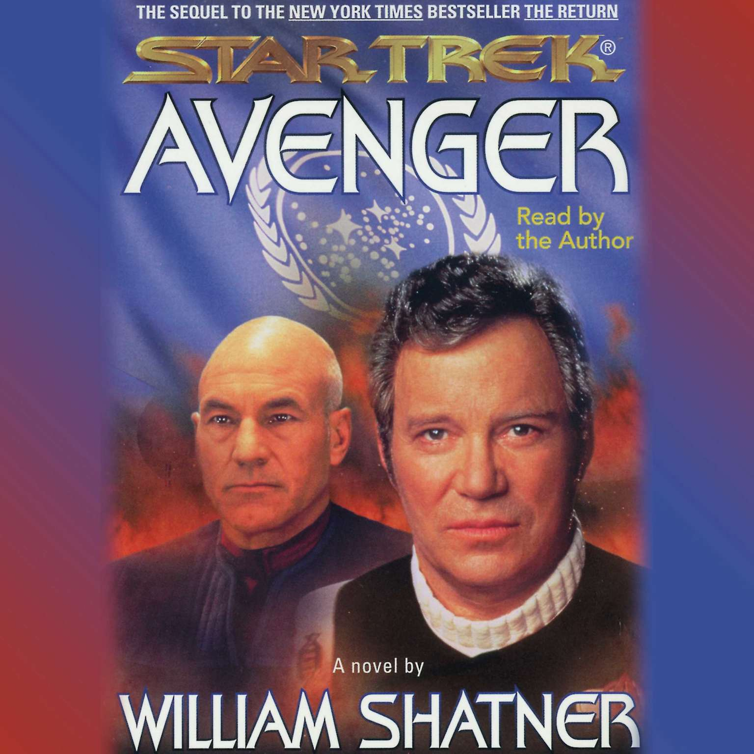 Printable Star Trek: Avenger Audiobook Cover Art