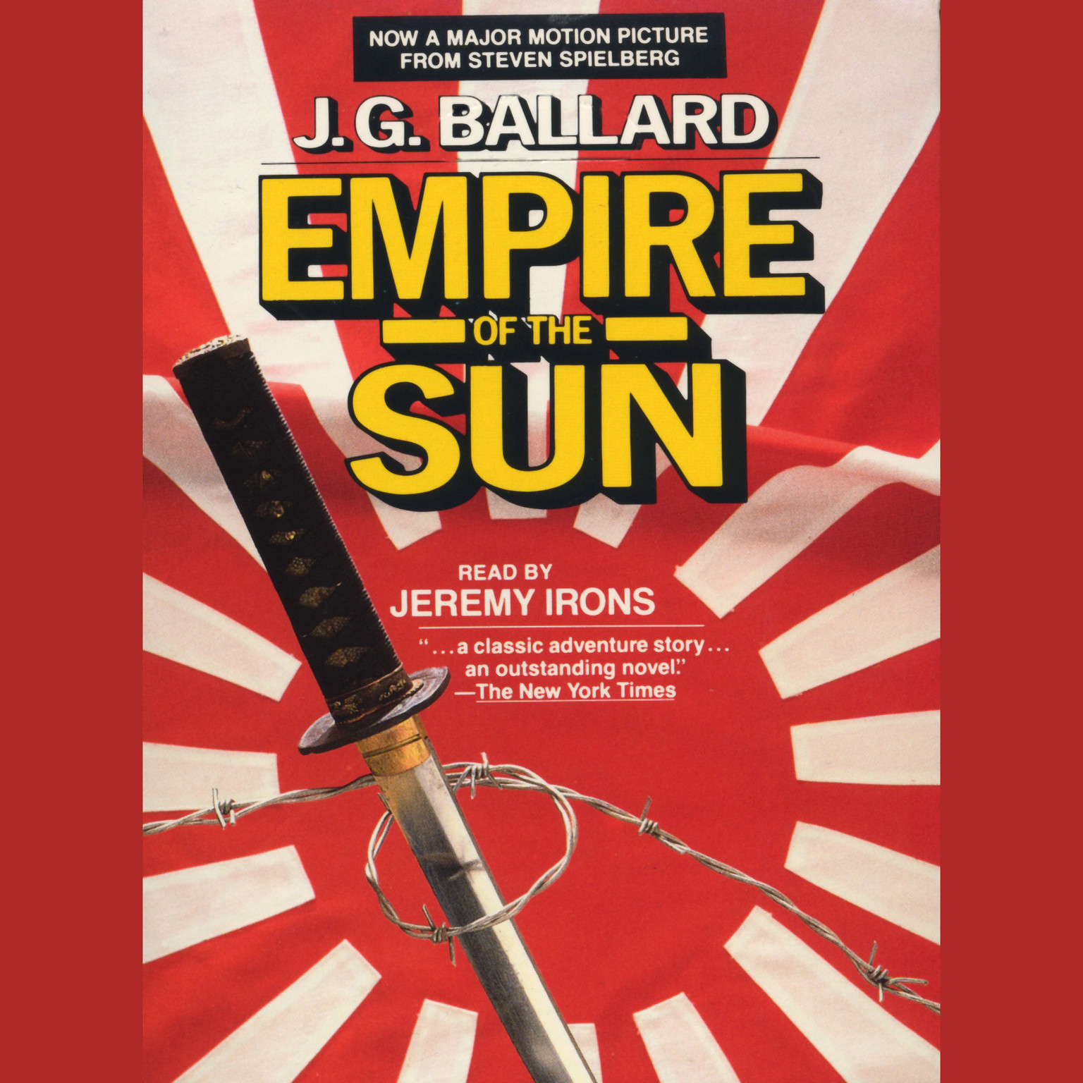 Printable Empire of the Sun Audiobook Cover Art
