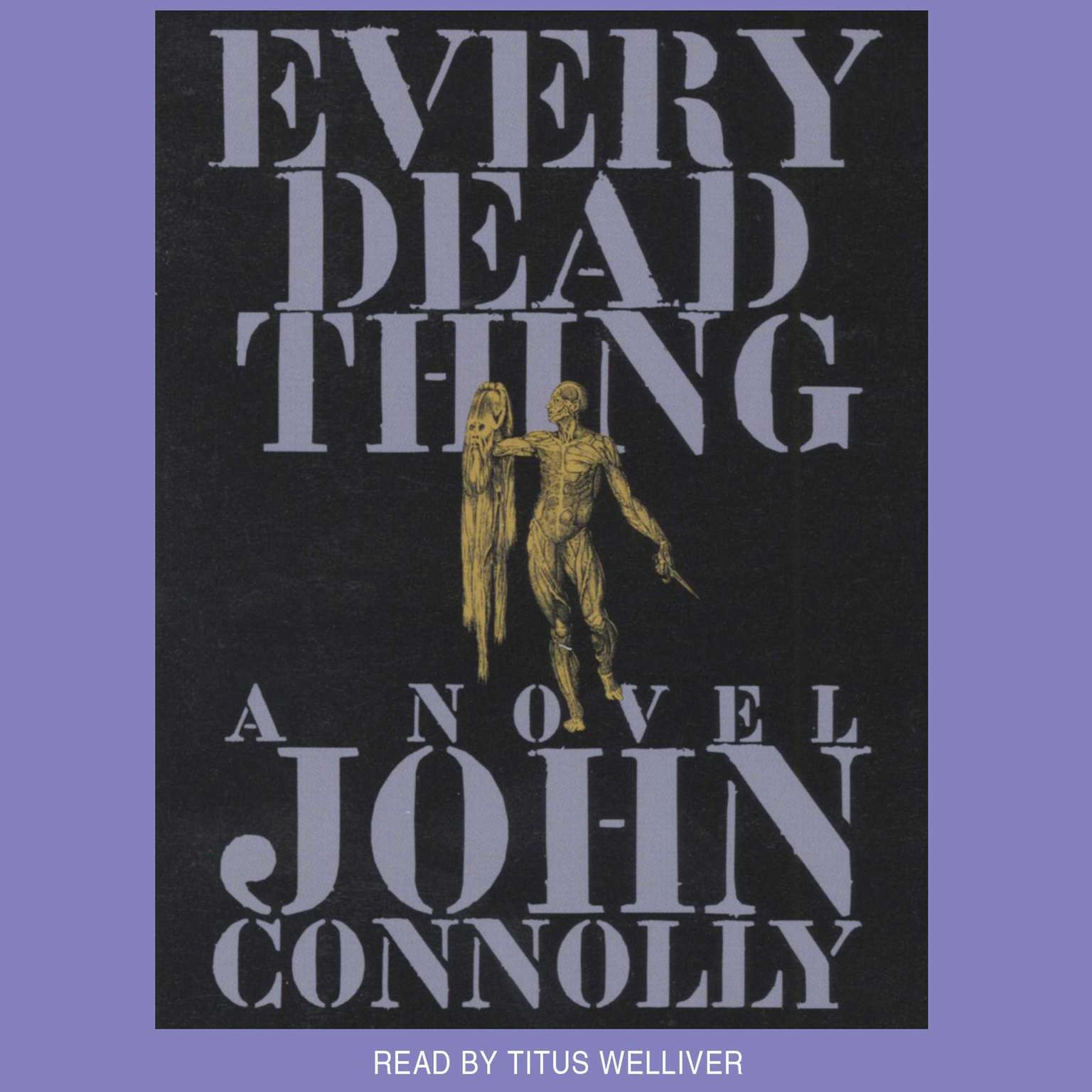 Printable Every Dead Thing Audiobook Cover Art