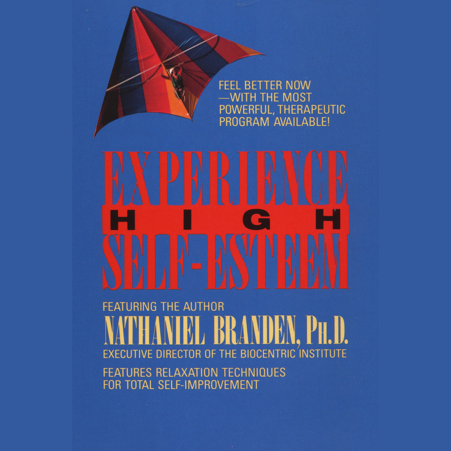 Printable Experience High Self-Esteem Audiobook Cover Art