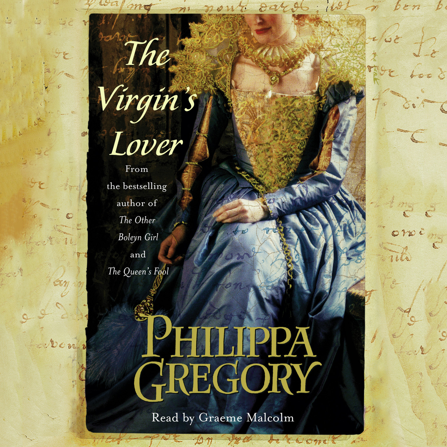 Printable The Virgin's Lover Audiobook Cover Art