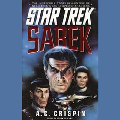 Printable Star Trek: Sarek Audiobook Cover Art