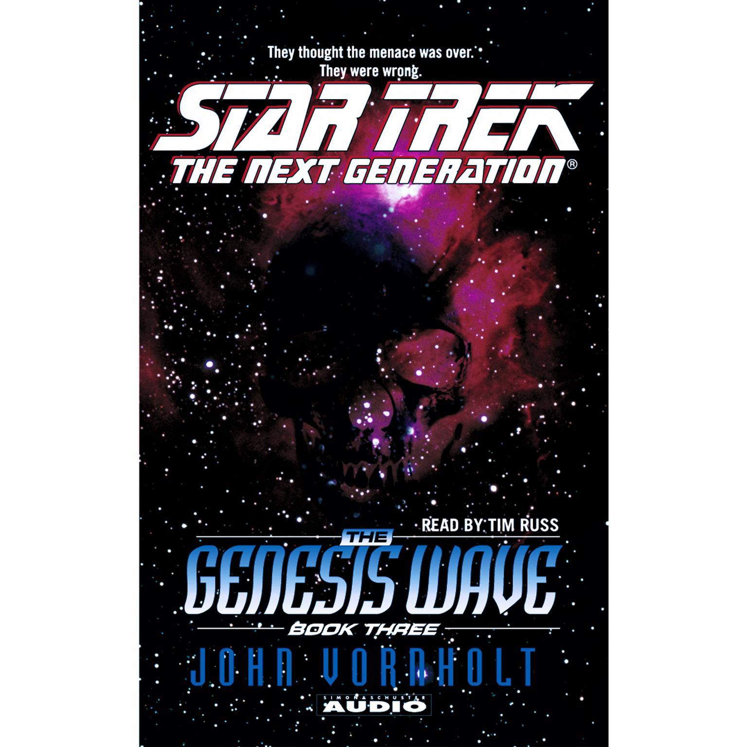 Printable Star Trek the Next Generation: The Genesis Wave, Book Three: Book 3 Audiobook Cover Art