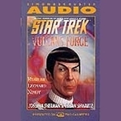 Printable Star Trek: The Original Series: Vulcan's Forge Audiobook Cover Art
