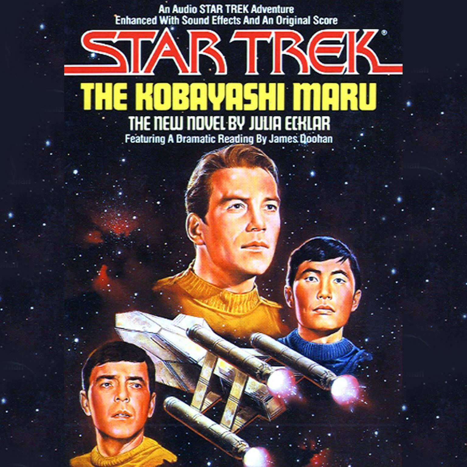 Printable Star Trek: Kabayashi Maru Audiobook Cover Art