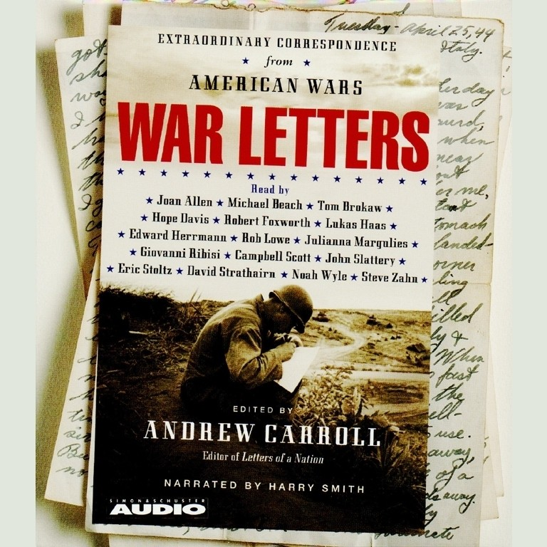 Printable War Letters: Extraordinary Correspondence from American Wars Audiobook Cover Art