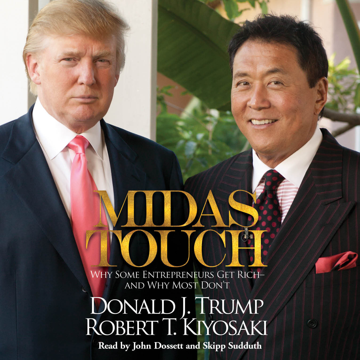 Printable Midas Touch: Why Some Entrepreneurs Get Rich - and Why Most Don't Audiobook Cover Art