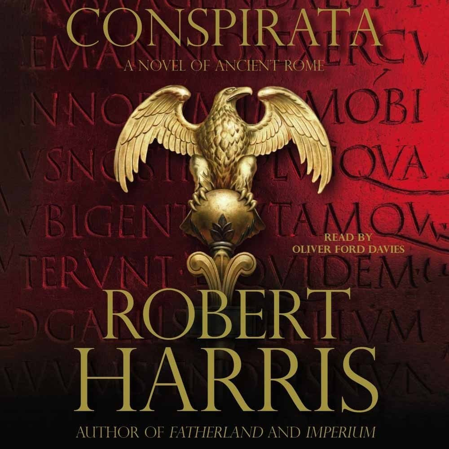 Printable Conspirata: A Novel of Ancient Rome Audiobook Cover Art