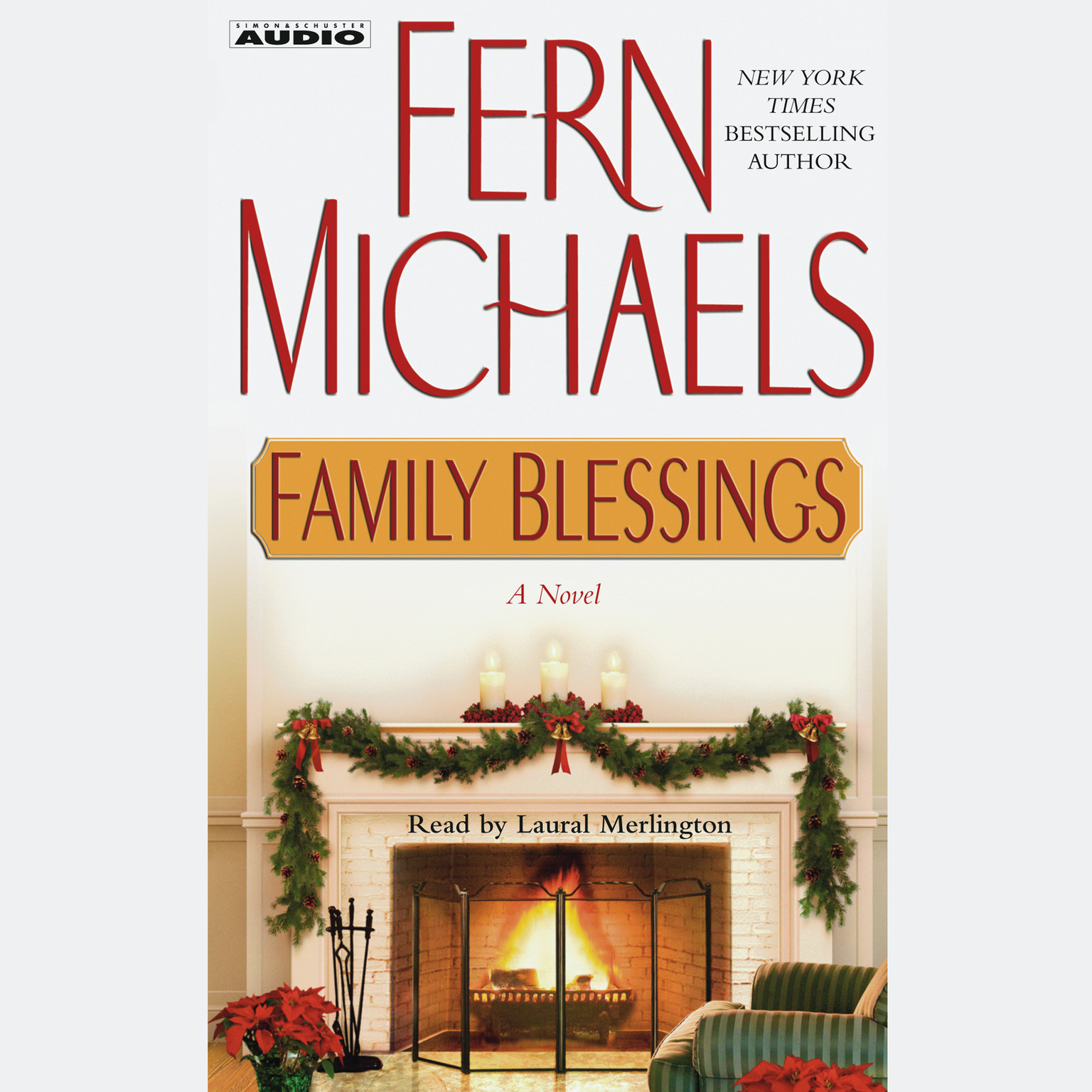 Printable Family Blessings Audiobook Cover Art