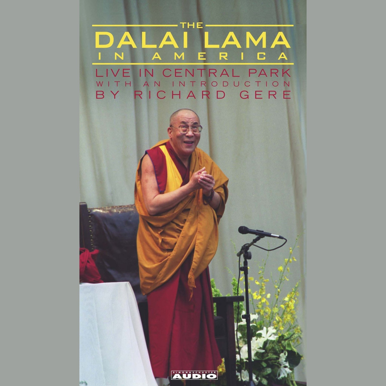 Printable The Dalai Lama in America: Cultivating Compassion Audiobook Cover Art